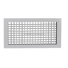 factory direct aluminum alloy or stainless steel or plastic double deflection grill air diffuser in hvac system