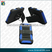 stand holster pc silicone combo case for iphone 5 5s