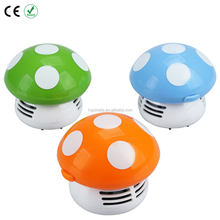 Battery powered mushroom mini dry table vacuum cleaner