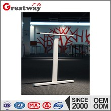 Modern office building use square metal workstation furniture table legs