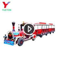Cheap Amusement Park Diesel Tourist Trackless Train For Sale