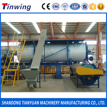 Poultry waste rendering plant machine