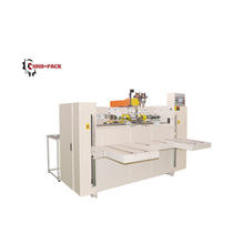 semi-auto corrugated carton box stitcher machine