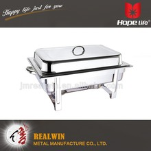 New design fashion low price stainless steel chafing dish