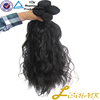Wholesale 7a grade virgin hair weft,unprocessed raw Virgin Indian Hair From India Temple