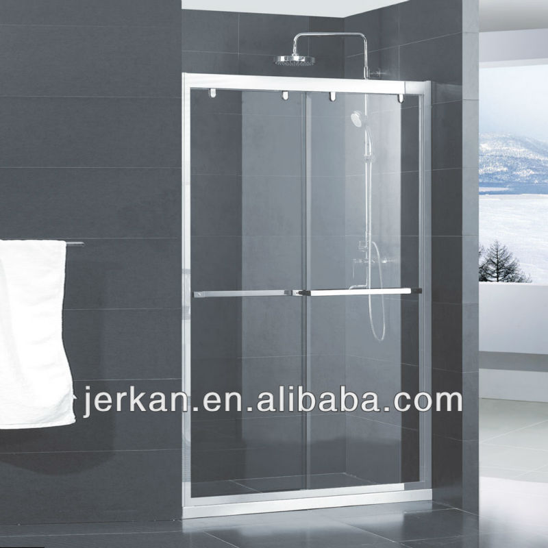 Aluminum Sliding Frosted Shower Screen