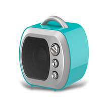 Newest Retro TV style Multi-colors optional Mini Wireless Portable bluetooth speaker 2017