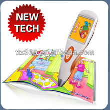 2013 Hot sale science and magic talking pen learn to read and write chinese