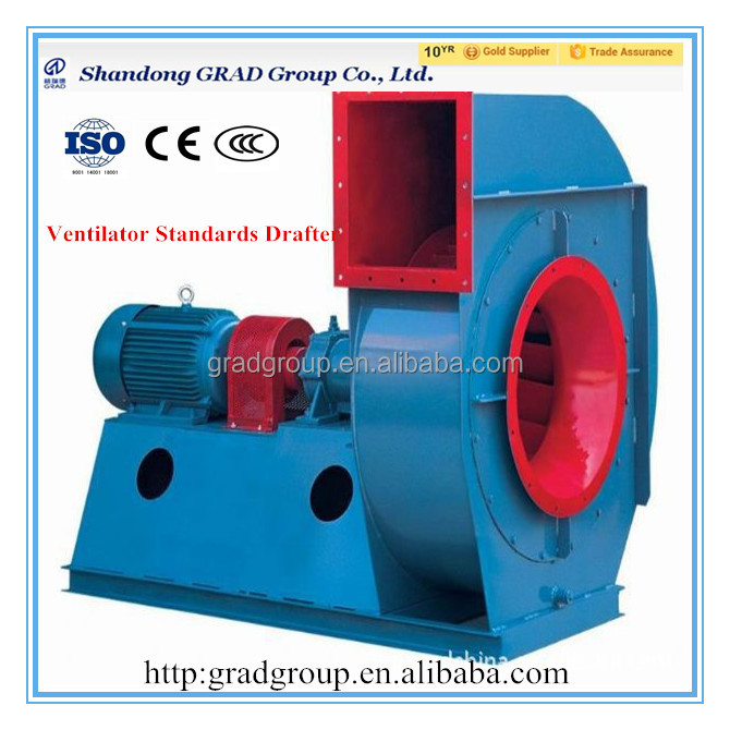 industrial centrifugal fan for boiler