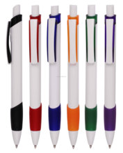 high quality low price stationery plastic promotional pen with OEM logo design