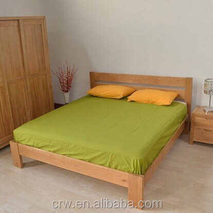 Y-1545 Contemporary simple design wooden bed