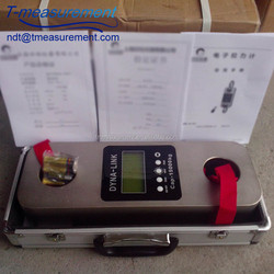 5000 kg force measuring black marine load cell digital wireless dynamometer portable crane scales