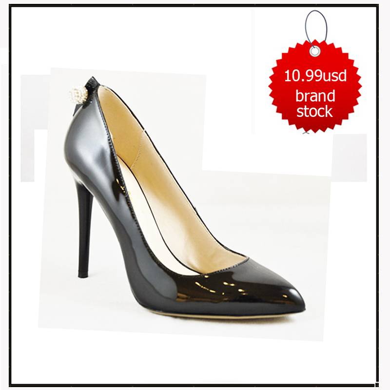 STOCK SHOES,patent leather stilleto brand name high heel shoes