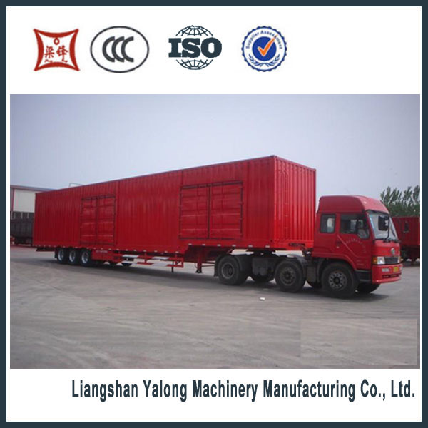 china brand high quality container semi trailer for sale