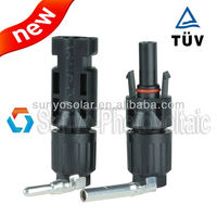 TUV approved solar MC4 connector IP68 2.5/4/6/10mm2 solar cable/wire