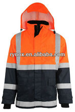 Insulated Flame and Static Resistant Rain Coat