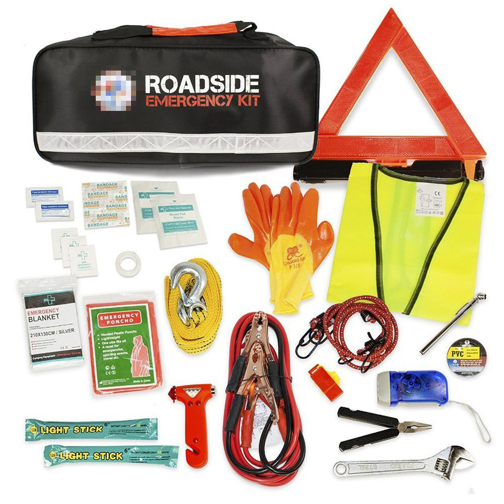 China Wholesale All Purpose Car Emergency Kit Repair Tools Auto Safety Kit/Auto Emergency Kit/Car First Aid Kit