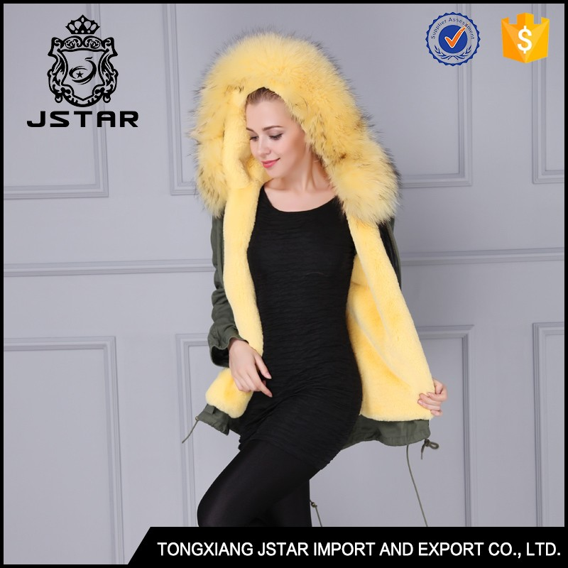 New design unisex fur collar coat online shopping parkas and jackets