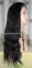 100% chinese virgin hair, lace wigs