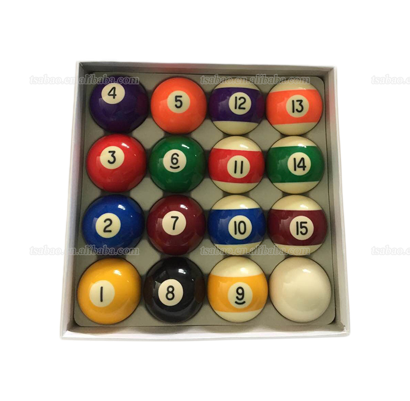 Manufacture price cheap billiard ball, 54mm Brazil pool ball set