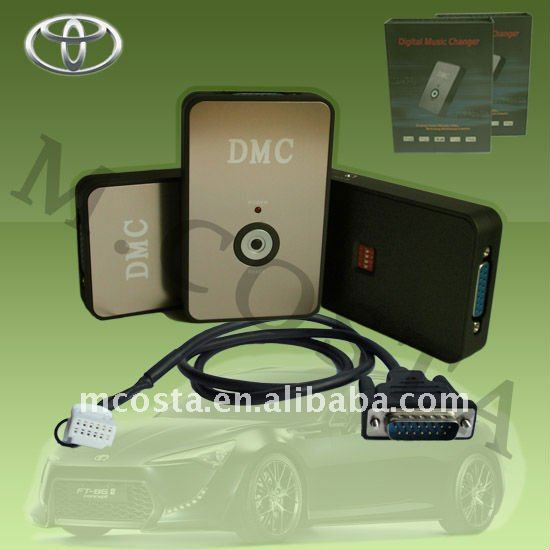 USB aux adapter for toyota with CE,FCC,RoHS approved
