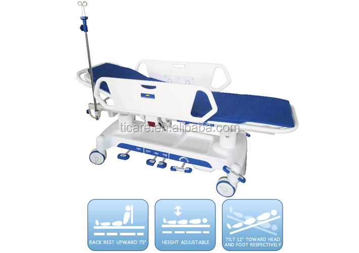 Luxurious Hydraulic Patient Transfer Stretcher