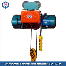 Hot selling machine Building Material Lifting Electric Hoist With Motorized Trolley Good Service