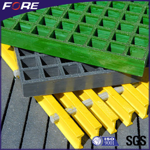 Molded Mini Mesh 1220*3660mm Fiberglass Reinforced Plastic FRP Grating Price For Garden Walkway