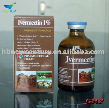 Ivermectin Injection 1% veterinary pruducts