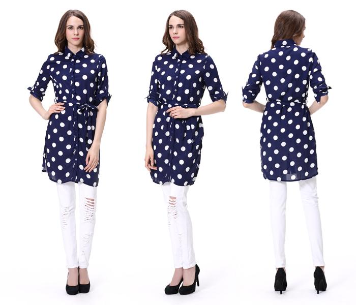 wholesale guangzhou price latest long tops designs girls