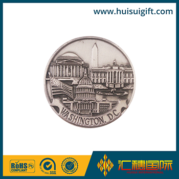 high quality wholesale custom wholesale gold replica coins with 3D logo