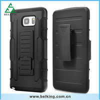 Black Heavy Hybrid Armor Case Cover Belt Clip with Holster Stand 2 in 1 Case For iphone 6 6 Plus Galaxy S4 S5 S6 S6 edg Plus