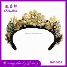 New selling exquisite covered metal headband