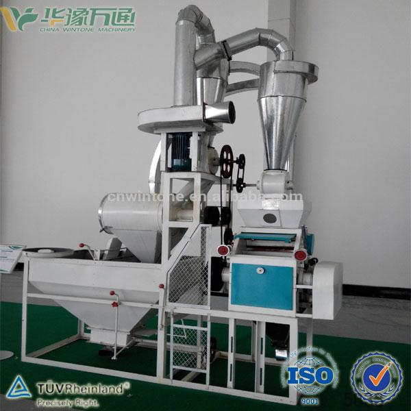 5 Tons Per Day Mini Wheat Flour Milling Machine Single