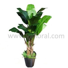 2015 Plastic cloth artificial tree large artificial plant decorative banana tree