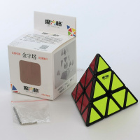QiYi Pyraminx MoFangGe Puzzle Magic Cube Black Intelligence pyramid Educational Toys for Kids