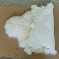 Top grade factory direct natural new finished tanned processed colorful sheep fur skin