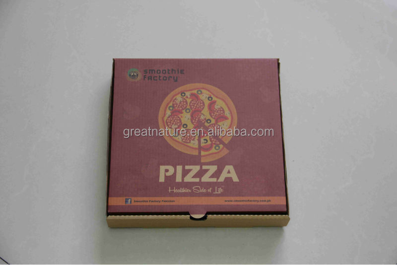 Brown kraft pizza box for sale
