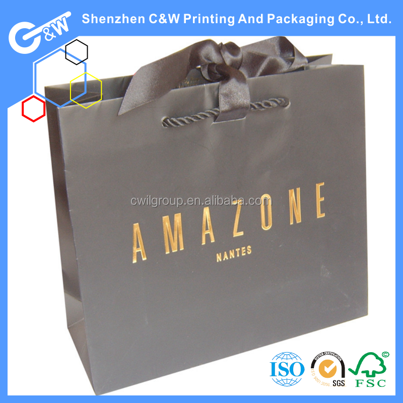 wine gift shopping paper bag for flour packaging