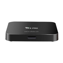 New Item TX5 Pro Amlogic S905X Android 6.0 Smart tv box 2Gb Ram 16GB Rom H.265 2.4G&5G Dual Wifi 4K Mini PC QUAD Core