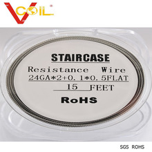 Large Stock Selling Original Staircase coil twisted wire resistance wire Alien Clapton wire Wholesale