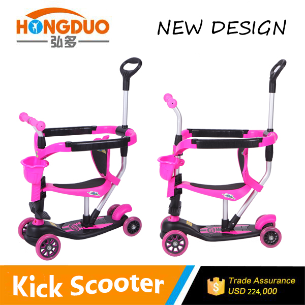Big wheel kick aluminium scooter body parts