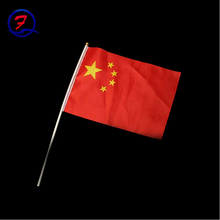 Promotion polyester American College sport game Hand Waving Flag advertising hand waving flag
