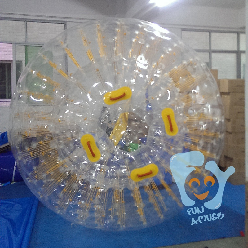2.8m/1.9m tpu/pvc inflatable body ball adult zorb ball