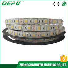 factory price ktv decoration dc12v ce rohs 5m/roll 5050 300leds waterproof heat resistant led strip light