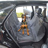 Hammock Designed Pet Barrier Waterproof Polyester Oxford Car Seat Cover