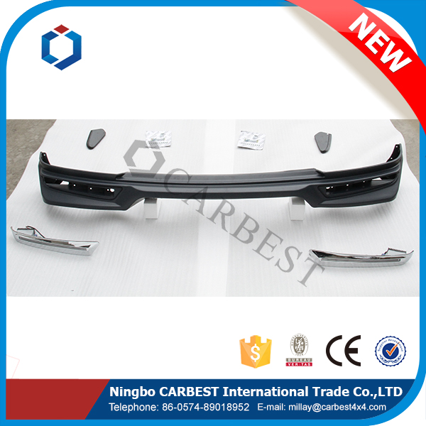 High Quality New 2016 Front Bumper Lip Spoiler For 2015 Nissan Patrol