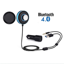 Bluetooth Transmitter and Receiver 3.5mm Bluetooth Audio Receiver Car Bluetooth Music Receiver with Stereo Output