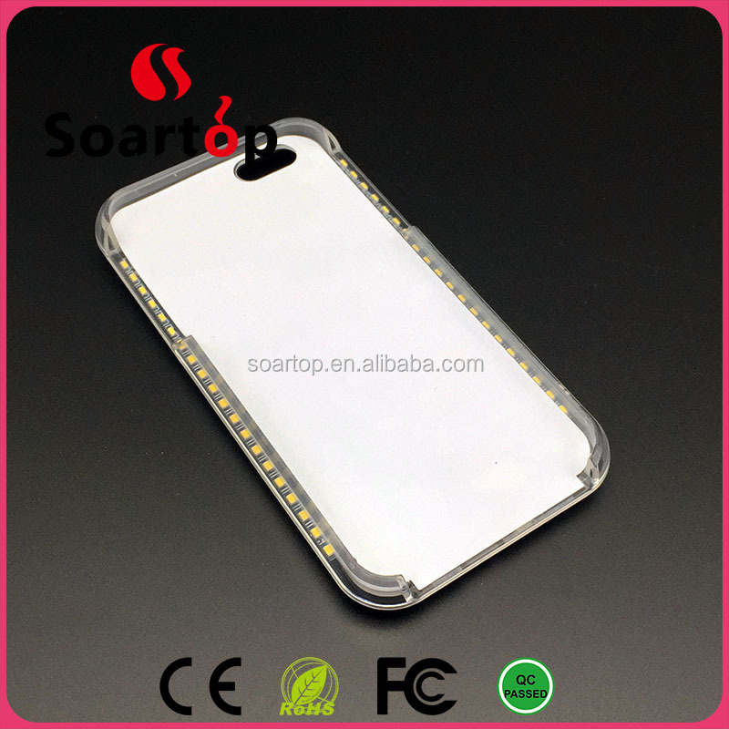 Selfie LED Light iphone6 case Power bank cases for iPhone