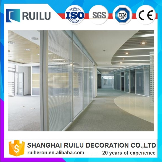 glass partition wall/office glass wall partitions